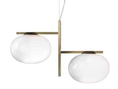 Alba 2 Spheres - Lampe à Suspension