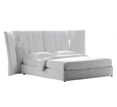 Angle Bed with Storage Unit