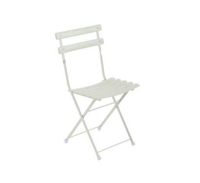 Arc En Ciel Folding Chair - White
