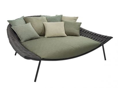 Arena Daybed Smoke/ Park Grass