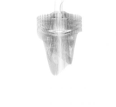 Aria Transparent Small Suspension Lamp