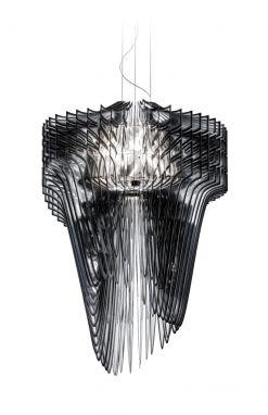 Aria Suspension Lamp XL Black Fade