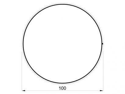 Arrangements Round Large Ø. 100 cm - 54W