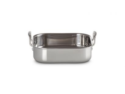 Le Creuset 3-ply Stainless Steel Square Roaster