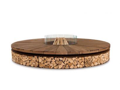 Artù Wood-Burning Outdoor Fire Pit