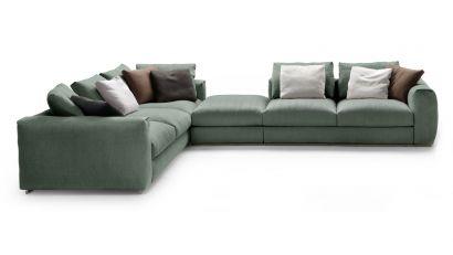 Asolo Sofa Flexform by Antonio Citterio