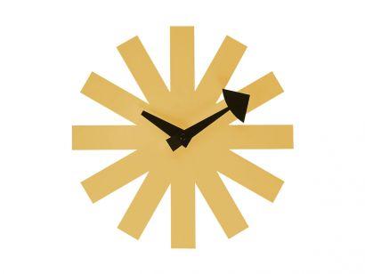 Vitra Asterisk Wall Clock - Brass