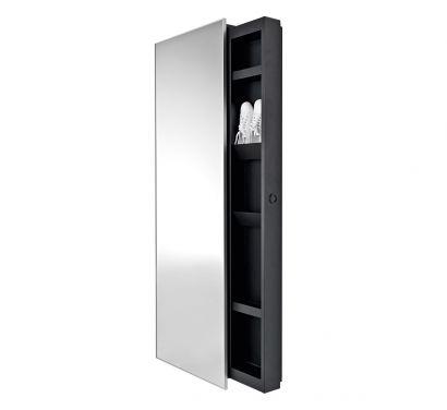 Backstage Mirror - 10 Straight Shelves H. 192
