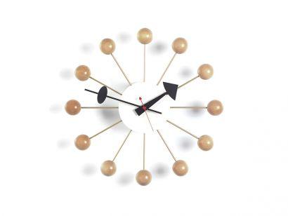 Ball Horloge Murale - Hêtre