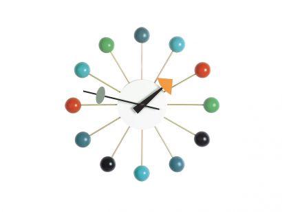 Ball Horloge Murale - Multicolor