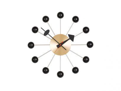Ball Wall Clock - Black