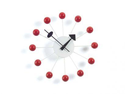 Ball Horloge Murale - Rouge