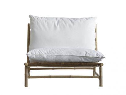 Bamboo Lounge Chair con Cuscini