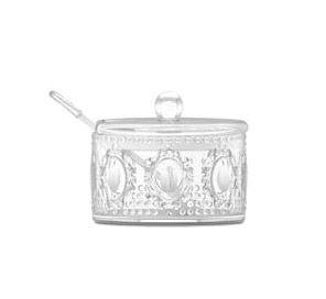 Baroque & Rock Sugar Bowl with Spoon