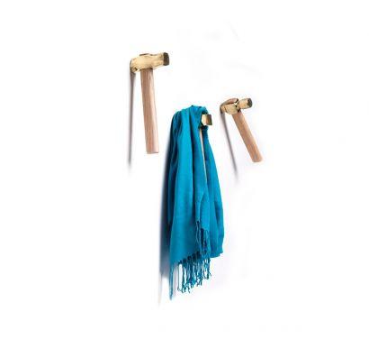 Bastaaa - Kit 3pcs Hammers Coat Hanger