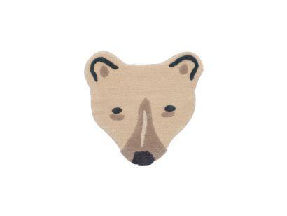 Tapis Matelassé Polar Bear Head