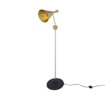 Beat Floor Lamp - Brass