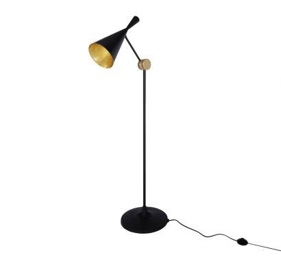 Beat Floor - Lampada da Terra - Nero