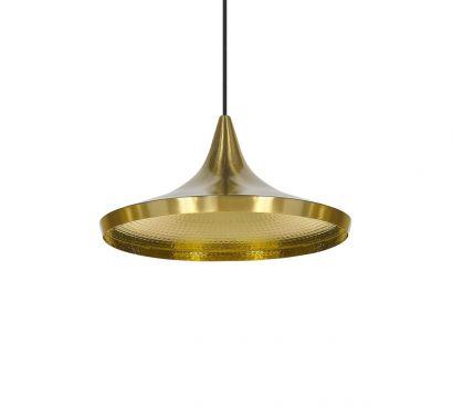 Beat Light Wide Cuivre Lampe à suspension