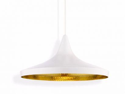 Beat Large Lampe de Suspension Blanc
