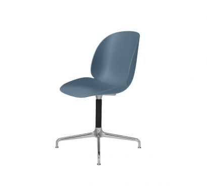 Beetle Unupholstered Dining Chair - Casted Swivel Base