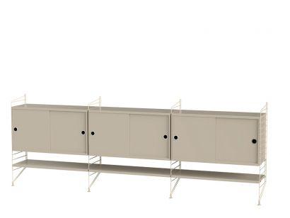 Living Room F - Shelving System