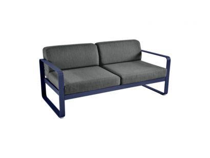 Bellevie Two Seater Sofa Graphite - Fermob - Mohd