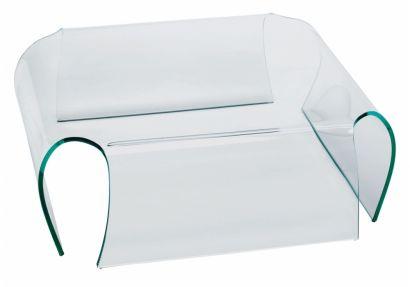 Bent Glass Table - Tavolino