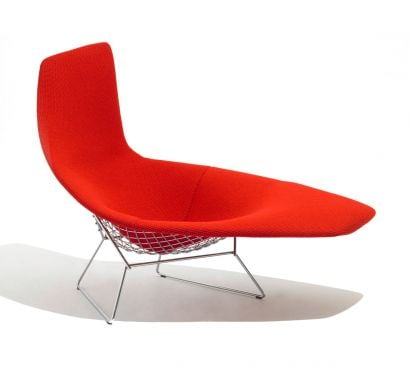 Bertoia Asymmetric Chaise Full Cover