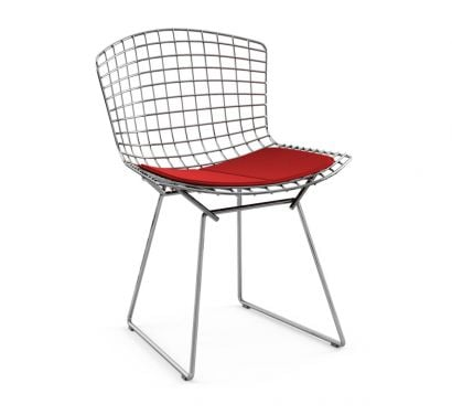 Bertoia Side Chair with Cushion