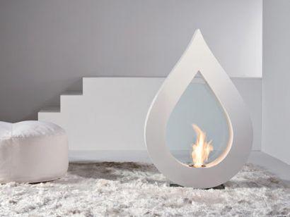 Big Flame Bio-Cheminée au Bioéthanol