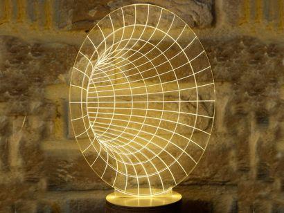 Bulbing Tunnel Lampada da Tavolo