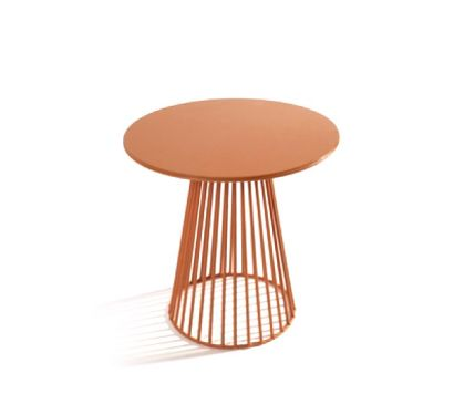 Bistrot Small table Ø 40 Orange
