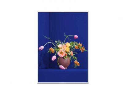 Blomst 01 - Blue Print