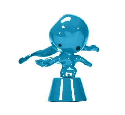 Momonster Blue Chute Decorative Figure