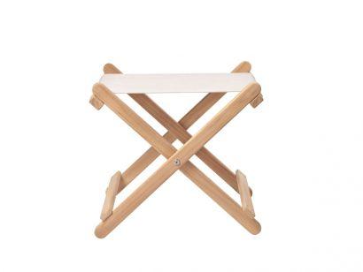 Carl Hansen & Son - BM5768 Outdoor Footstool - Deck Chair Series