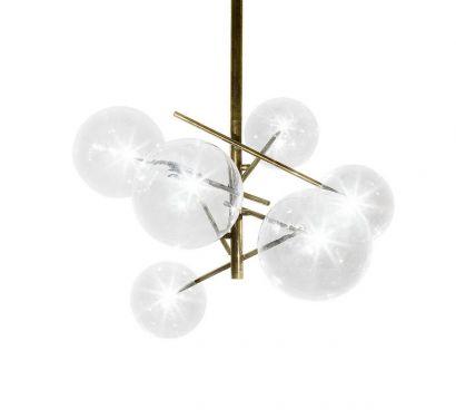 Bolle Lampada a Sospensione 6 Sfere LED
