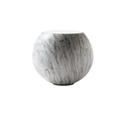 Bong Tavolino - Marmo Bianco Carrara