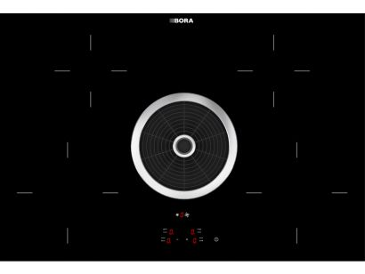Bora Hyper Induction Hob with integrated Filter Hood
