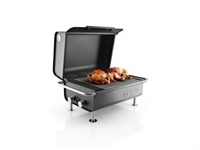 Box Barbecue a Gas