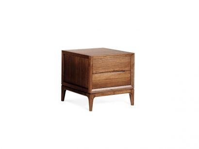 Brad Table d'Appoint - Small / Noyer Foncé