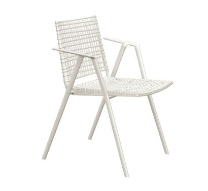 Branch Outdoor Chair with Armrest
