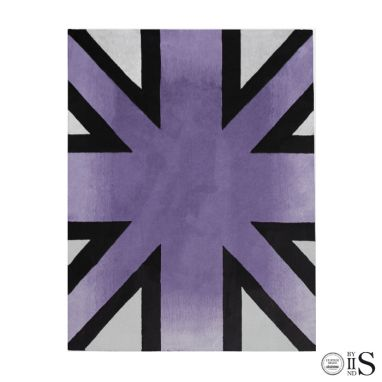 Brick Line Purple/Grey/Black Tappeto
