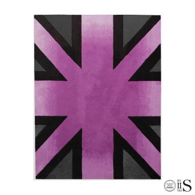 Brick Line Pink/Grey/Black Tappeto