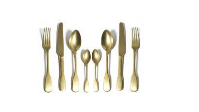 bricklane gold cutlery