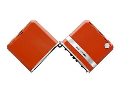 Radiocubo.it TS522DS Portatile Radio-Orange