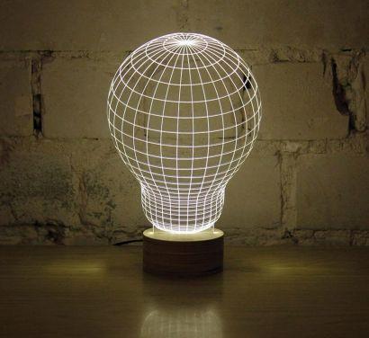 Bulbing Lamp Lampada da Tavolo