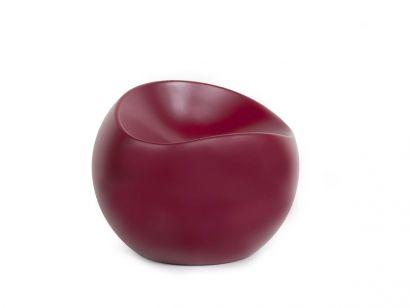 Ball Chair Burgundy Xlboom