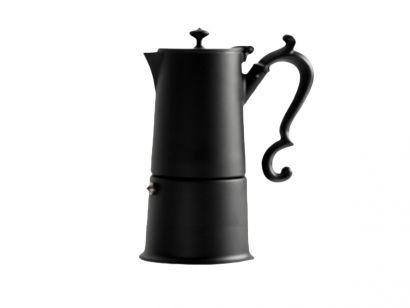Lady Anne Coffee Pot 4 Cups - Black