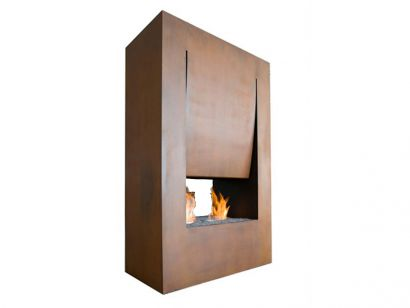 Canto del Fuoco Double Faced Fireplace